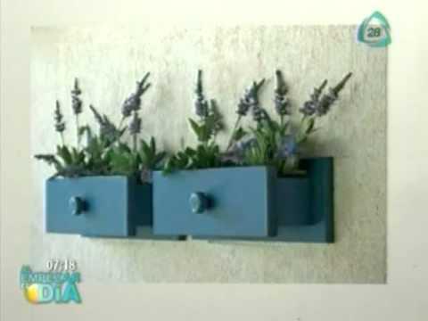 Macetas hechas de cajones viejos inventos utiles youtube - Reciclar muebles viejos ...