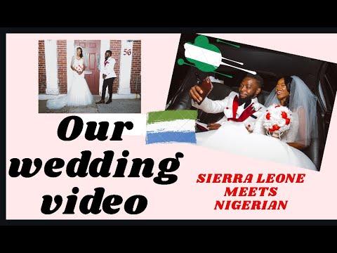 Sierra Leone (Mimi) meets Nigeria (Dami) Wedding
