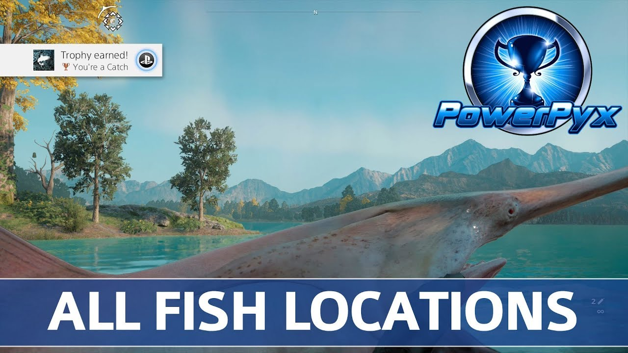 Far Cry New Dawn All Fish Locations You Re A Catch Trophy