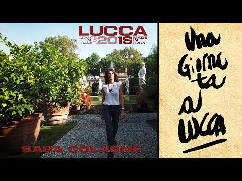 [Lucca Comics & Games] Sara Colaone , una giornata a Lucca