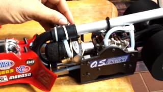 Rc dragster os wankel rotary engine r/c drag car