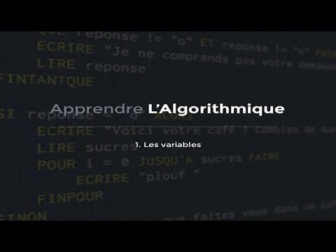L'algorithmique (1/10) :