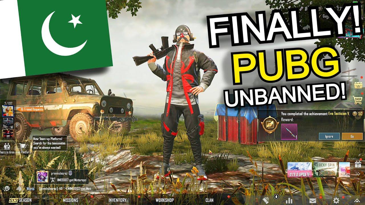 FINALLY PUBG UNBANNED HOGAI! | PUBG MOBILE PAKISTAN