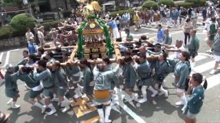 川崎山王祭 2013 町内神輿連合渡御 特別編