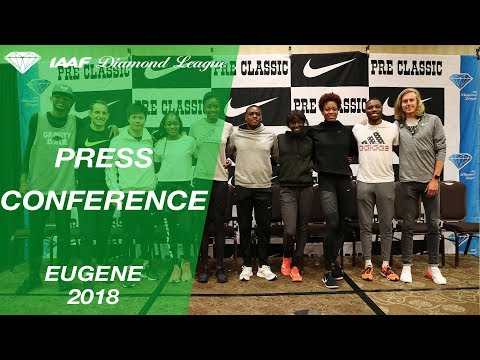 Eugene 2018 Press Conference - IAAF Diamond League