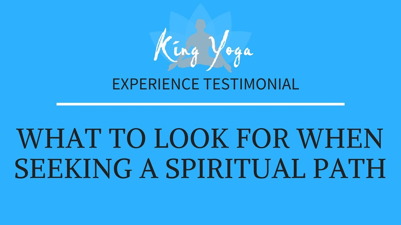 Are you looking for spiritual truth? The King Yoga