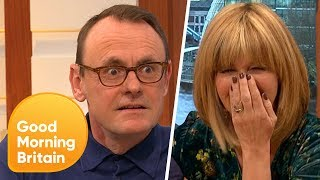 Ben Shephard and Kate Garraway Left in Stitches as Comedian Loses His Voice! | Good Morning Britain