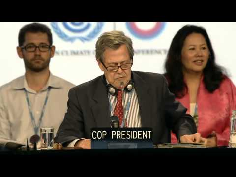COP20 - Lima:   Conference Of The Parties COP, Resumed 10th Meeting