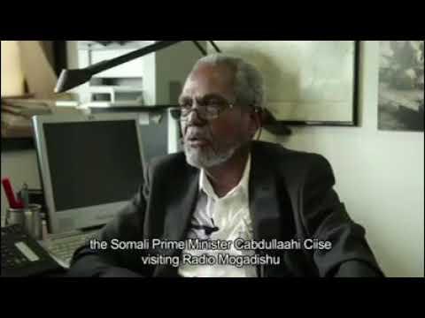 Daawo Raysal Wasarihii Somalia Xornimada Ka hor Oo Booqanaya Radio Mogadishu