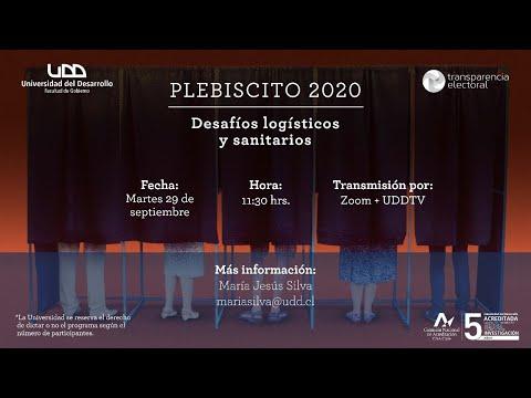 Plebiscito 2020: desafíos logísticos y sanitarios