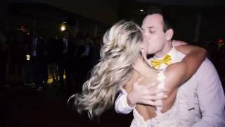 Surprise Bride and Groom Dance - Blake and Laura Wellington