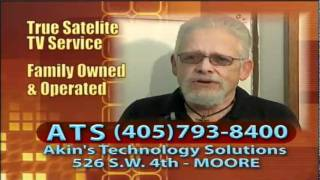 ATS LLC Oklahoma Local Satellite TV Retailer DirecTv and Dish Network