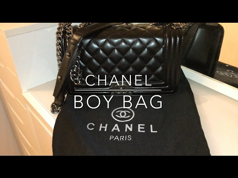 FAKE Chanel Boy Bag  REVIEW  - YouTube 47b68f927dac6