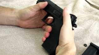 CZ P09 Decocker Function