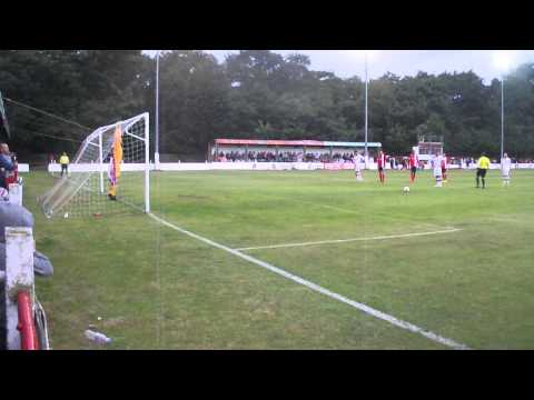 Lincoln United penalty against Lincoln City