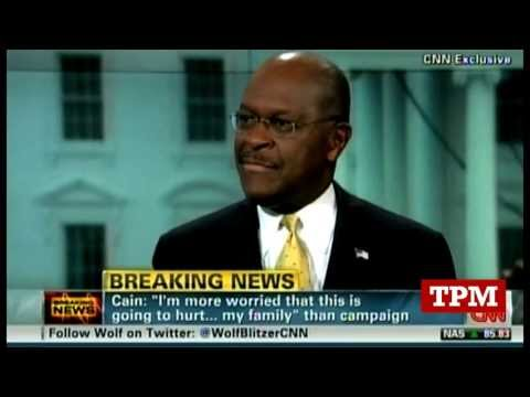 """""""Here we go again"""": Cain On New Allegations"""
