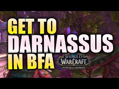 How To Get To Darnassus In BfA (Alliance - Patch 8.0)