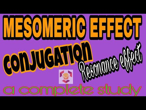 Super Trick of Mesomeric Effect and Resonance effect ..by Dr. Madhuresh