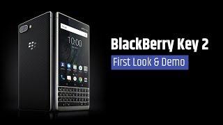 BlackBerry Key 2 | First Look & Demo | Digit.in