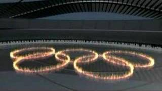 Papaioannou - 2004 Olympics Opening - Welcome, Olympic Rings