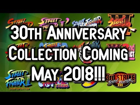 Street Fighter 30th Anniversary Collection Coming To Nintendo Switch, PC, Xbox One & Playstation 4!