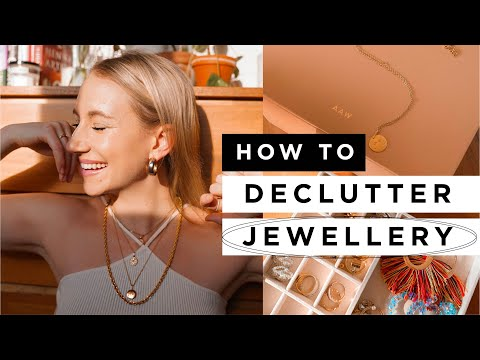 How to DECLUTTER JEWELLERY in 10 Steps ✨ - YouTube