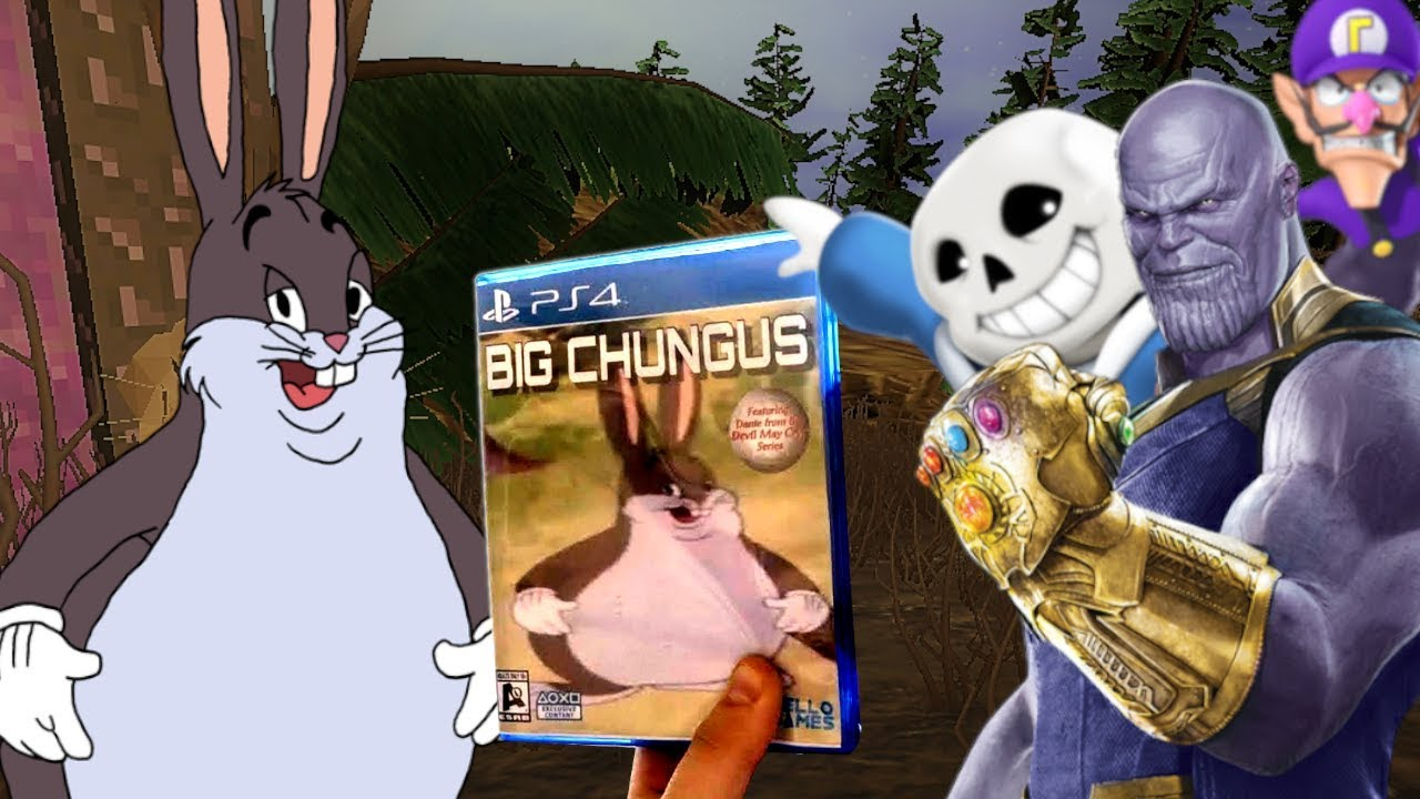 Big Chungus Game Made By Soulja Boy Real Big Chungus 3d Game Vs