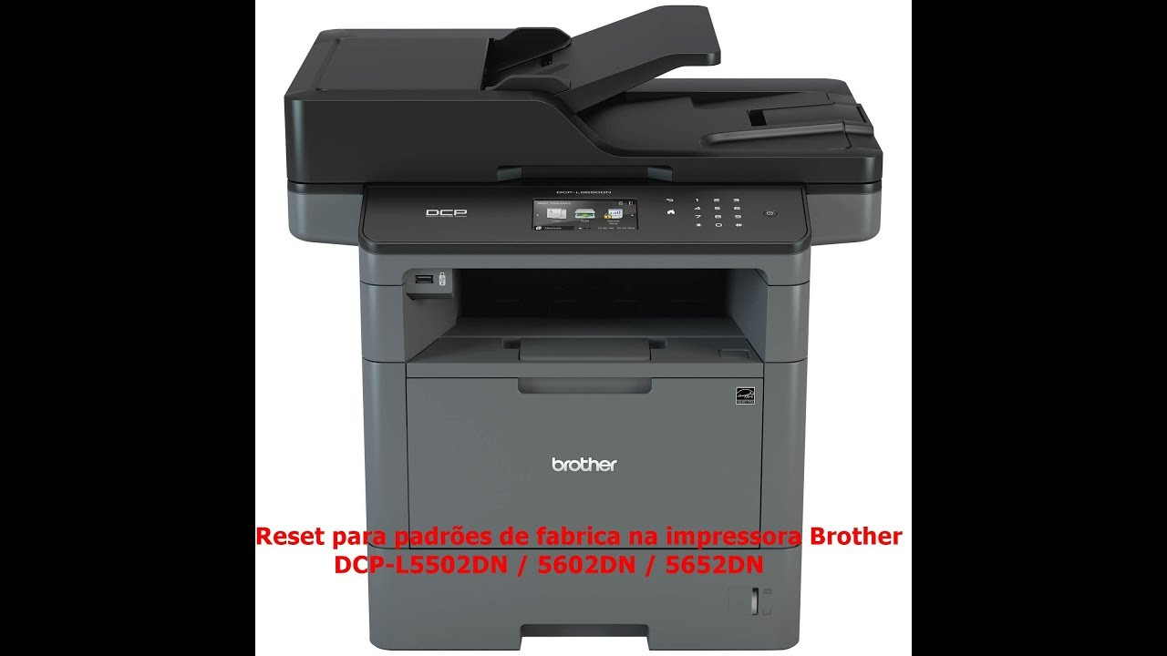 DRIVER UPDATE: BROTHER DCP-L5602DN