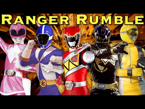 RANGER RUMBLE - feat. REAL Power Rangers [FOREVER SERIES] #FightChallenge