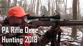 Old School Pennsylvania Rifle Hunting 2018 - Justin