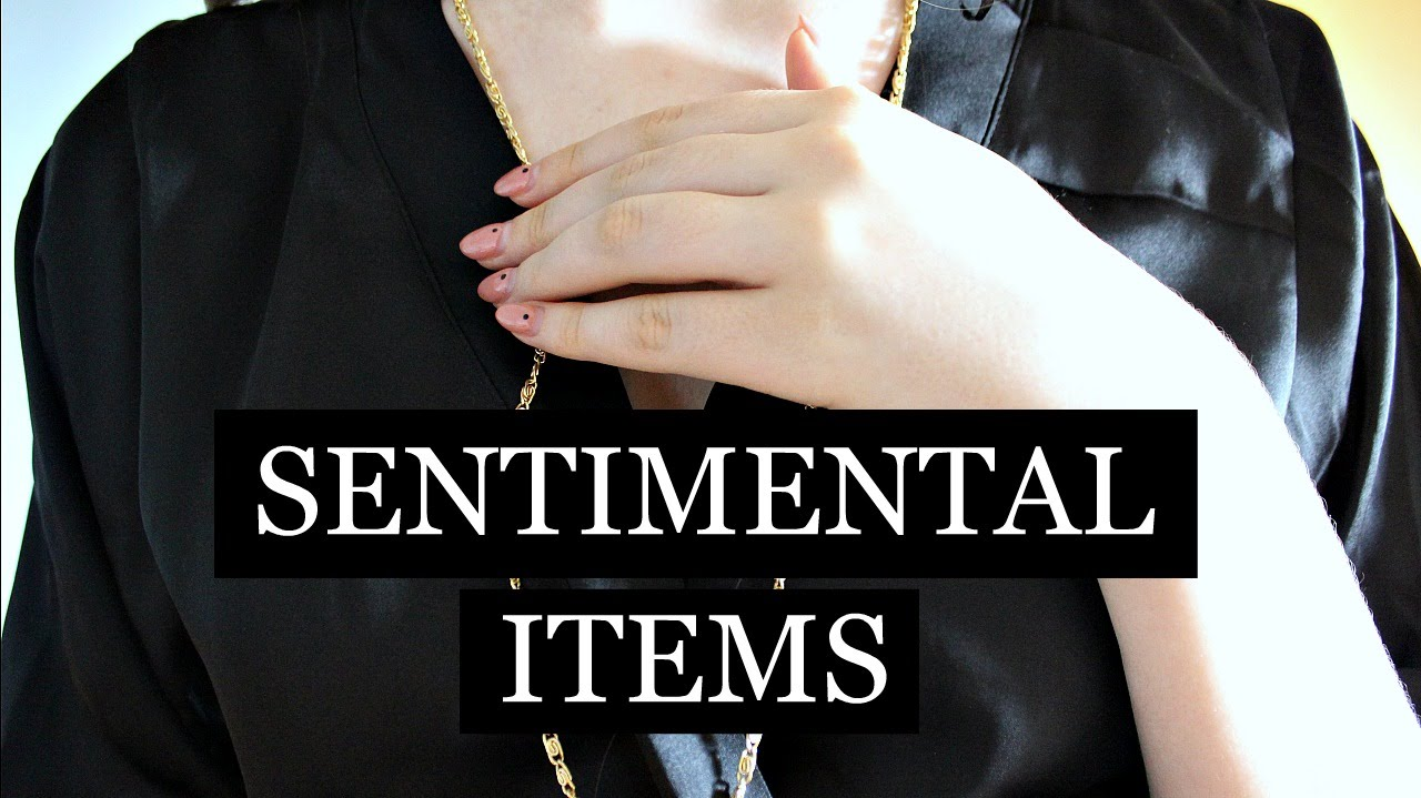 Minimalism Sentimental Things Lia 39 S Loft Youtube