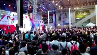 2016.1.24 Japan Expo. 島田晴香、鈴木まりや、横島亜衿 伊豆田莉奈、野...