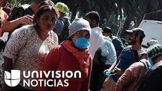 Más de 1,500 migrantes de la caravana están en Mexicali a la espera de poder llegar a Tijuana