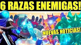 Destiny 2: Puzzles! Misterios! 6 Razas Enemigas! Raid mas Accesible! Personajes de Mundo y MÁS!