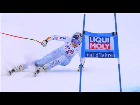 Lindsey Vonn Wins Her 78th World Cup - Val d' Isere Super G - 2017