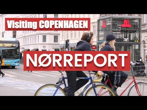 🇩🇰Visiting Copenhagen:  Norreport area and surroundings