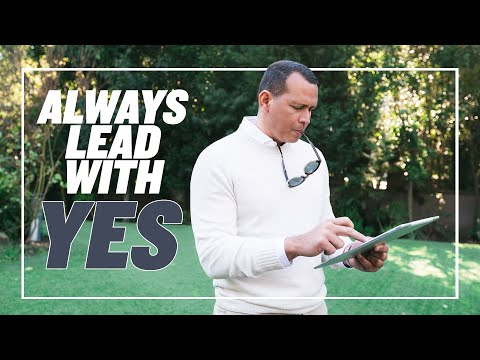 ALWAYS LEAD WITH YES   VLOG 2
