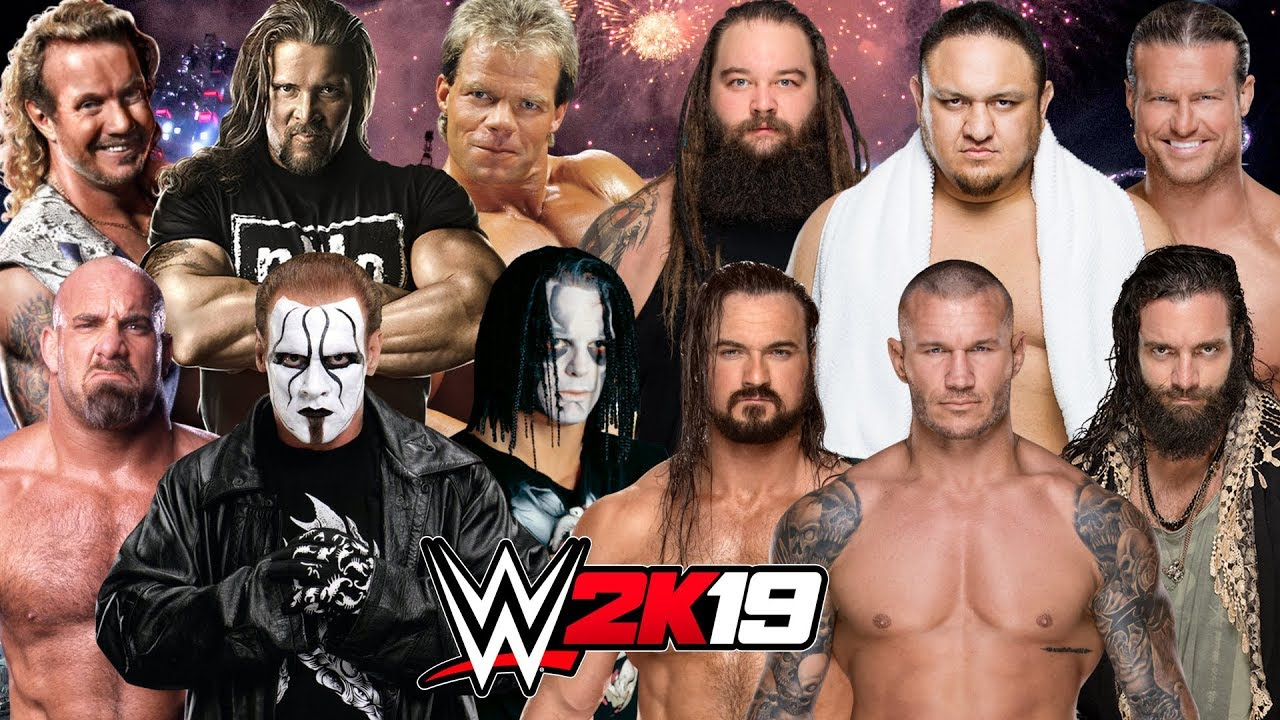 Wcw Bogus Sting: WWE 2K19 ROYAL RUMBLE