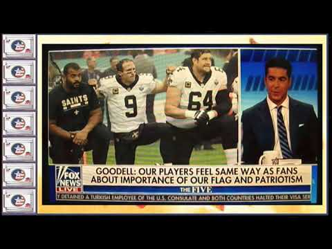 #CommonSenseTricity #NFLBoycott2017 QUICKIE ANALYSIS OF COMMISH GOODELL'S NO CHNG. ANTHEM POLICY