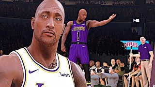 NBA 2K19 - The Rock Goes to Hollywood