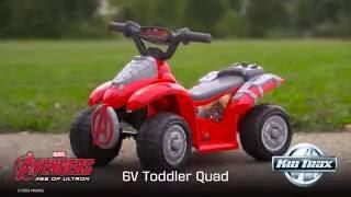 Дитина Тракс 6-Вольтової Месники Квадроциклах Їздити На Іграшковий Автомобіль