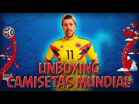 UNBOXING CAMISETAS DEL MUNDIAL !!!!! - 동영상