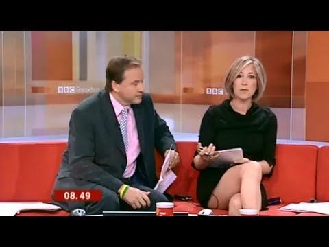 Tv news upskirt gosling