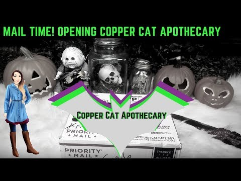 MAIL TIME! Opening Copper Cat Apothecary Mega Cake Bath Bomb & MORE