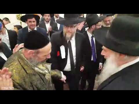 ריקוד גדולי ישראל - בר מצוה לנכד הרב דב קוק