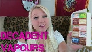 Decadent Vapours Review!   TiaVapes