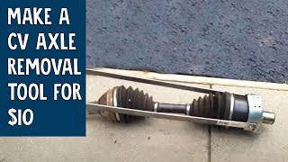 How to Make a CV Axle Removal Tool for $10