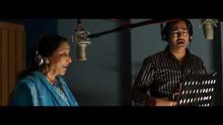 Asha Bhosle-Sudesh Bhonsle record song