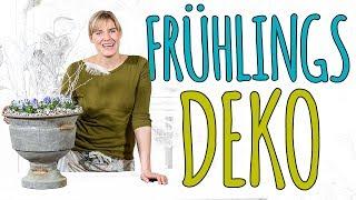 FRÜHLINGSDEKO - DAS HORNVEILCHEN - DIY