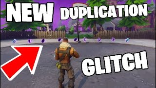 How To DUPLICATE Items In FORTNITE SAVE THE WORLD (Rainbow Crystal & More Duplication Glitch)